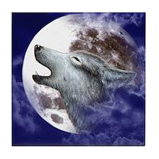 iPad 3 Folio_Moon Wolf Tile Coaster