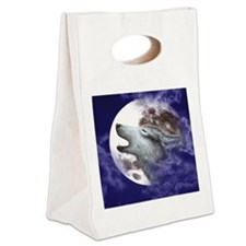 iPad 3 Folio_Moon Wolf Canvas Lunch Tote