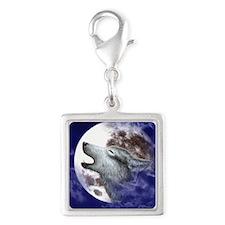 iPad 3 Folio_Moon Wolf Silver Square Charm