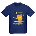 Garden Tools Kids Dark T-Shirt