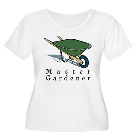 Master Gardener Women's Plus Size Scoop Neck T-Shi