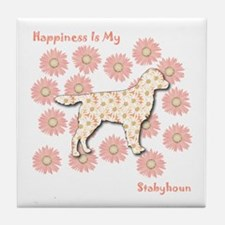 Stabyhoun Happiness Tile Coaster