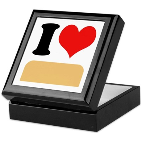 I heart twinkies Keepsake Box