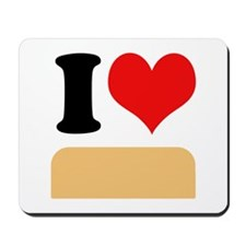 I heart twinkies Mousepad