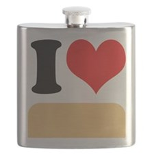 I heart twinkies Flask