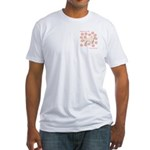 Sussex Happiness Fitted T-Shirt