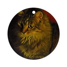 beemer Round Ornament