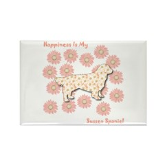 Sussex Happiness Rectangle Magnet