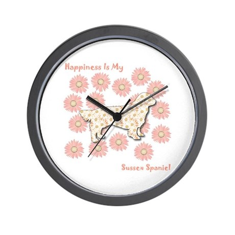 Sussex Happiness Wall Clock