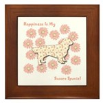 Sussex Happiness Framed Tile