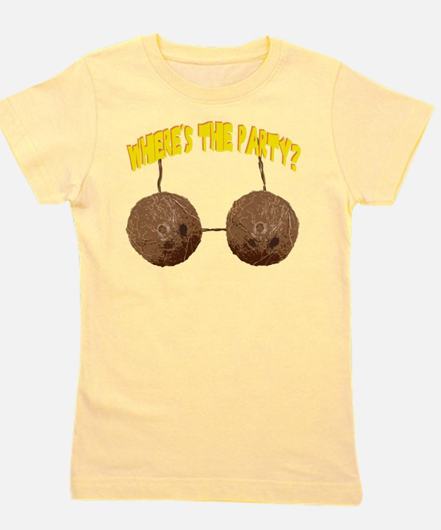 party nuts Girl's Tee