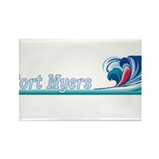 Fort Myers, Florida Rectangle Magnet