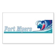 Fort Myers, Florida Rectangle Decal
