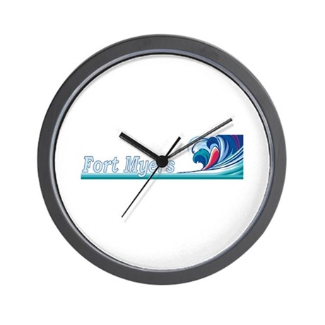 Fort Myers, Florida Wall Clock