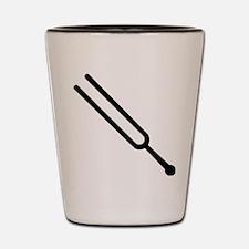Tuning fork Shot Glass