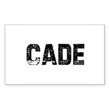 Cade Rectangle Decal