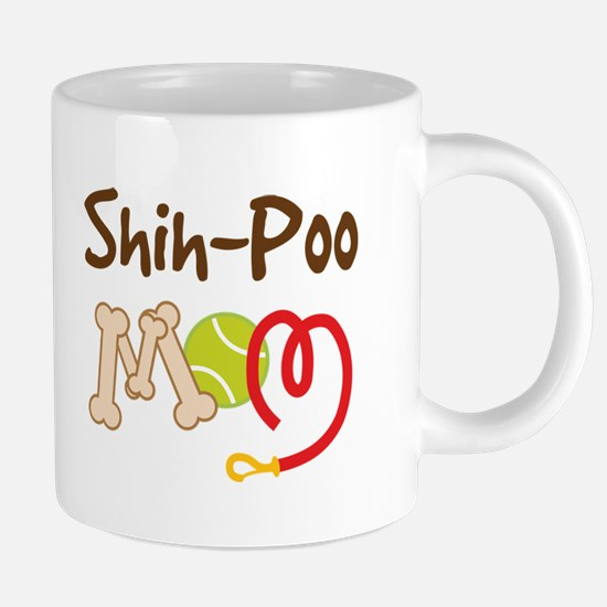 Shih-Poo Dog Mom Mugs