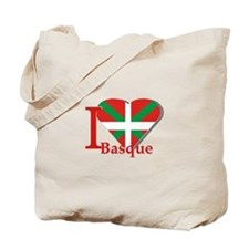 I love Basque Tote Bag