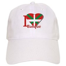 I love Basque Baseball Cap