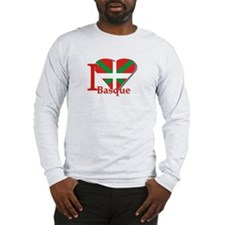 I love Basque Long Sleeve T-Shirt