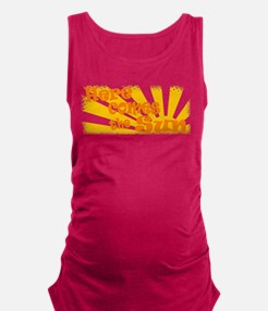 here comes the sun.png Maternity Tank Top