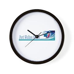 Fort Walton Beach, Florida Wall Clock