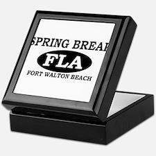 Spring Break Fort Walton Beac Keepsake Box