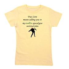 True Love Zombie Girl's Tee