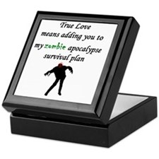 True Love Zombie Keepsake Box