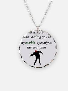 True Love Zombie Necklace