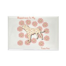 Tosa Happiness Rectangle Magnet