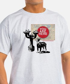 You Are Here, Portland - Benson Bubb T-Shirt
