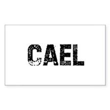 Cael Rectangle Decal