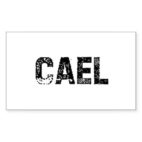 Cael Rectangle Sticker