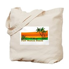 Fort Walton Beach, Florida Tote Bag