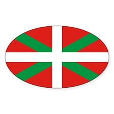 The Ikurriña, Basque flag Decal
