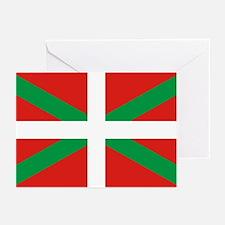 The Ikurriña, Basque fla Greeting Cards (Pk of 10)