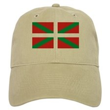 The Ikurriña, Basque flag Baseball Cap