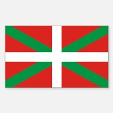 The Ikurriña, Basque flag Decal