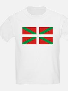 The Ikurriña, Basque flag T-Shirt