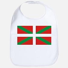 The Ikurriña, Basque flag Bib