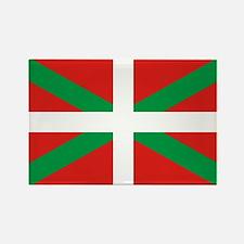 The Ikurriña, Basque flag Rectangle Magnet