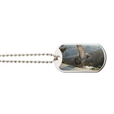 Flight of pigeon in Montmartre Dog Tags