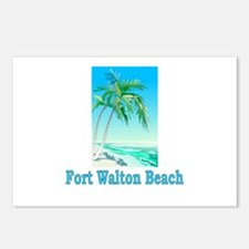 Fort Walton Beach, Florida Postcards (Package of 8