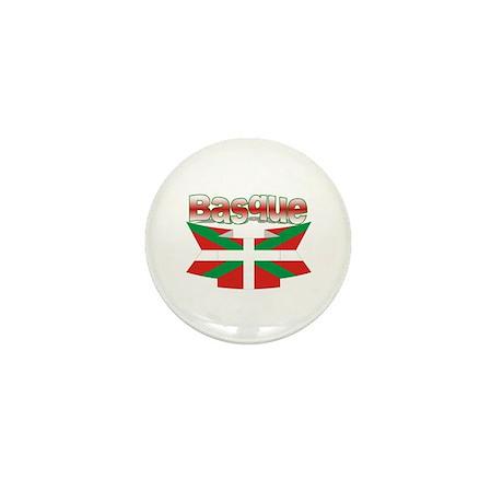 Vasco flag ribbon Mini Button