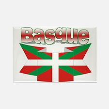 Vasco flag ribbon Rectangle Magnet