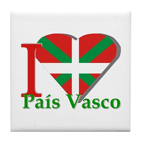 I love Pais Vasco Tile Coaster