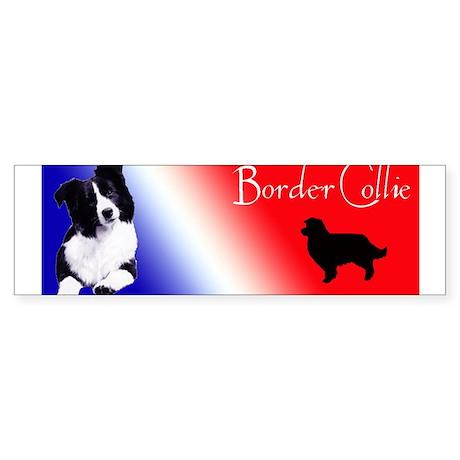 border collie Bumper Sticker