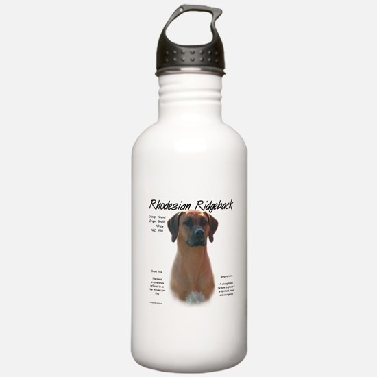 Rhodesian Ridgeback Water Bottle