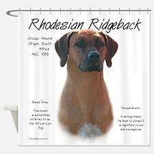 Rhodesian Ridgeback Shower Curtain